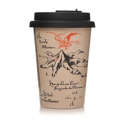 £13.95 • Buy Official The Hobbit Lonely Mountain Huskup Eco Friendly Travel Coffee Mug Cup