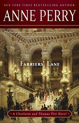 Farriers' Lane (Charlotte And Thomas Pitt) By Perry, Anne Book The Cheap Fast • 6.71£