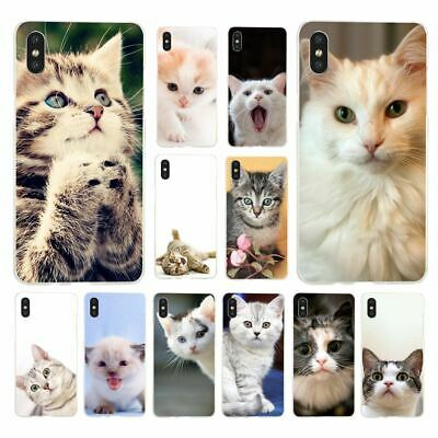 AU3.99 • Buy Cat Phone Cover For IPhone X Case XR Xs Max 5 5S SE 6 6S 8 7 Plus 11 Pro H4043
