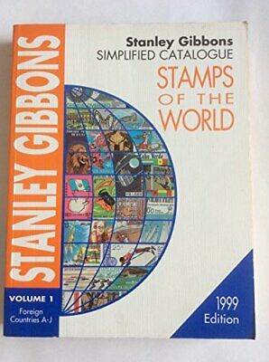 £35.99 • Buy Simplified Catalogue Of Stamps Of The World 199... By Gibbons, Stanley Paperback