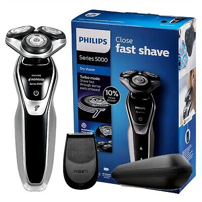AU106.81 • Buy Philips Electric Shaver Series 5000 Wet & Dry, S5370/04, With Turbomode Original