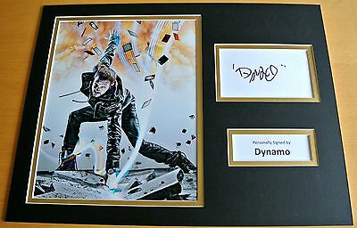 £99.99 • Buy DYNAMO HAND SIGNED AUTOGRAPH 16x12 PHOTO DISPLAY MAGICIAN IMPOSSIBLE & COA