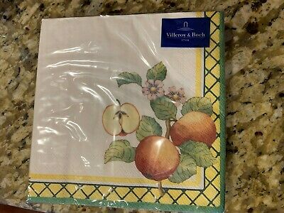 Villeroy & Boch FRENCH GARDEN Luncheon Paper Napkins • 11.40£