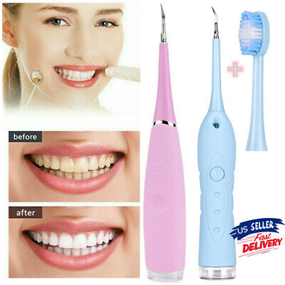 $9.88 • Buy Ultrasonic Dental Scaler Tooth Strong Cleaner Calculus Stain Remove Oral Care SU