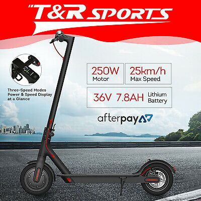 AU419.99 • Buy 5%OFF- 2020 250W M365 PLUS OLED Display APP Electric Scooter Portable Foldable!