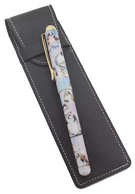 £12.99 • Buy Shih Tzu Breed Of Dog Themed Pen With Pen Case Perfect Gift