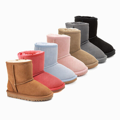 AU55 • Buy Ozwear Ugg Kids Classic Ugg Long Boots (water Resistant) 3 Colours Ob007ii