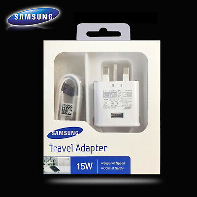 $ CDN4.20 • Buy Genuine Fast Mains Charger & Type-C Cable For Samsung Galaxy S8+ S9+ S10 Plus UK