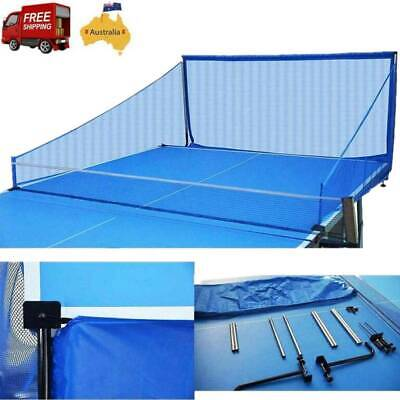 AU53.72 • Buy Portable Table Tennis Ball Catch Net For Robot Ping Pong Training Equipment AU