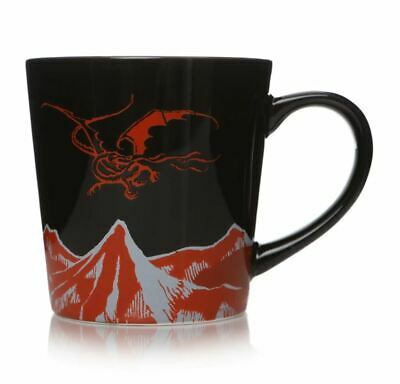 Official The Hobbit Smaug Tapered Coffee Mug Cup New In Gift Box • 10.95£
