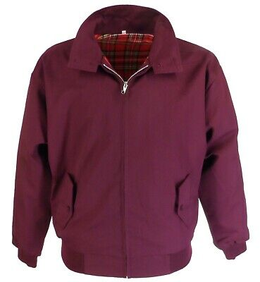 Relco Deep Burgundy Harrington Mod Scooter Jacket • 34.99£