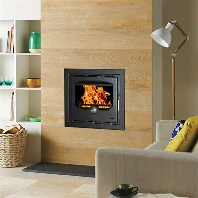 Double Sided 10kw Cassette Inset Insert Stove Modern Irish Made Multifuel  • 1,999£