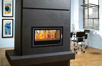 14kw Double Side Cassette Inset Insert Stove Modern Irish Made Multifuel Large • 3,299£