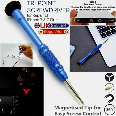 0.6 Tri Point Screwdriver Repair Triwing Tool Y000 For Apple IPhone 7 & ALL • 2.59£