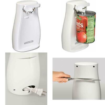 $ CDN27.91 • Buy Power Electric Automatic Can Opener With Knife Sharpener White