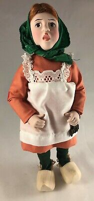 $24.88 • Buy Polly Norman Rockwell Porcelain Character Doll Rumble Seat 1981 West Germany