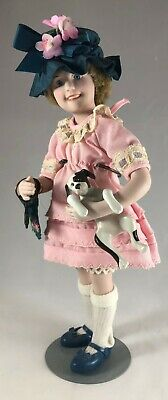 $24.88 • Buy Amy & Puppy Dog Norman Rockwell Porcelain Character Doll Rumble Seat 1983 German