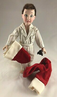 $24.88 • Buy Davey Norman Rockwell Porcelain Character Doll Rumble Seat 1980 Santa Vintage