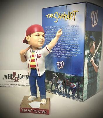 $ CDN105.29 • Buy 2018 Washington Nationals Ham Porter  Hambino  Sandlot Movie Sth Sga Bobblehead