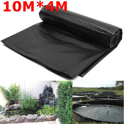 10M*3M HDPE Heavy Duty Fish Pond Liner Pools Membrane Reinforced Landscaping • 23.99£