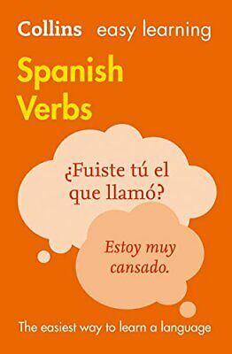 £8.27 • Buy Easy Learning Spanish Verbs By Collins Dictionaries New Paperback Book