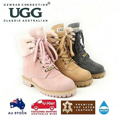AU99 • Buy Ozwear Ugg Liliana Shearling Boots (water Resistant) 3 Colours Ob376