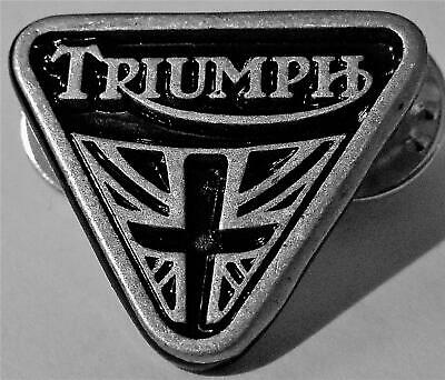 £4.95 • Buy New Superb Quality Triangle Triumph Motorcycle Pin Biker Badge