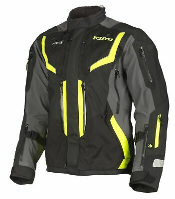 $ CDN1376 • Buy KLIM Badlands Pro Hi-Vis Motorcycle Touring Adventure Jacket - Free Shipping