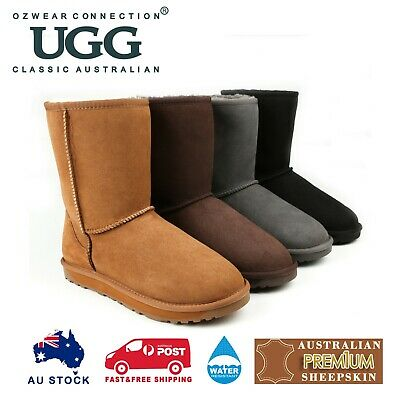 AU82 • Buy Ozwear Ugg Classic Short Boots (water Resistant) 4 Colours Ob361