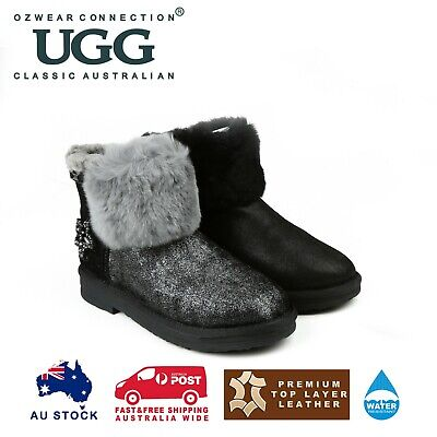 AU68 • Buy Ozwear Ugg Bonanza Bee Star Boots (water Resistant) 2 Colours Ob341