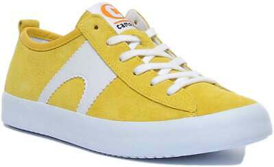 £74.99 • Buy Camper Imar Copa Women Suede Leather Trainers In Yellow Size UK 3 - 8