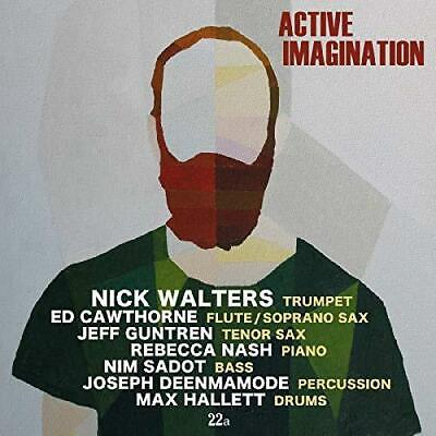 Nick Walters - Active Imagination (NEW CD) • 12.24£