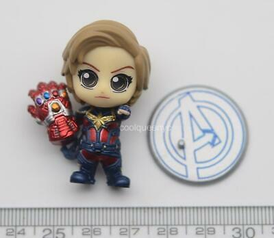 $ CDN21.03 • Buy Hot Toys COSB682 Cosbaby Female Heroes 4cm Mini Team - Captain Marvel