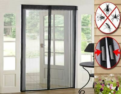 £6.99 • Buy Magic Curtain Door Mesh Magnetic Hands Free Fly Mosquito Bug Insect Screen