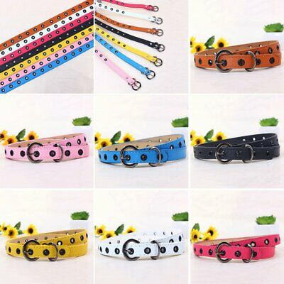 $6.22 • Buy Toddler Baby Kid Leather Adjustable Waistband Child Girl Boy Buckle Belts Strap
