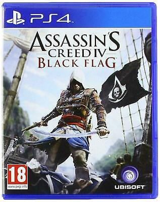 Assassin's Creed IV Black Flag PS4 Inc Manual & Fast Free Postage/Dispatch • 10.45£