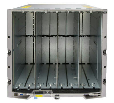 $494.69 • Buy Dell PowerEdge M1000e Blade Chassis + 6 Power + 9 Fans + 2 CMC + IKVM + M6220