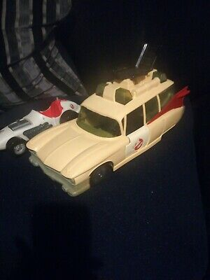 Ghostbusters Ecto 1 Ambulance And Number 8 Racing Car.  • 25£