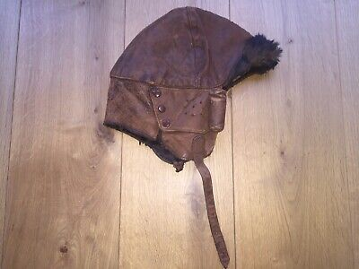 British Ww1 Flying Helmet • 90£