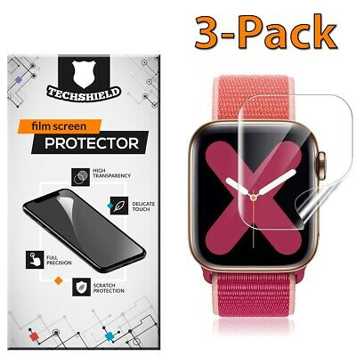 $ CDN3.78 • Buy For Apple Watch Series 5/4/3/2/1 38 40 42 44 Mm Screen Protector Film 3-PACK