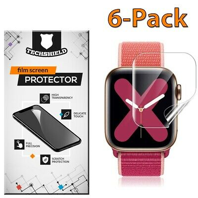 $ CDN6.28 • Buy For Apple Watch Series 5/4/3/2/1 38 40 42 44 Mm Screen Protector Film 6-PACK