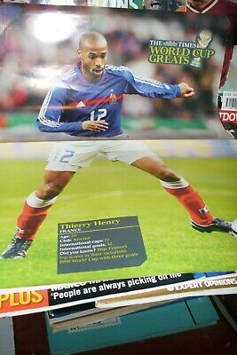 £0.99 • Buy Thierry Henry Soccer Poster.