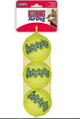 KONG SqueakAir Tennis Balls Dog Toy XSmall,Small,Medium,Large Squeaky Fetch Play • 5.14£