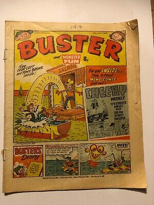 Buster And Monster Fun Comic 15/07/1978 • 2.50£