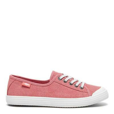 £22 • Buy Rocket Dog Women's Chow Chow Pink Salty Cotton Canvas Lace Up Trainer