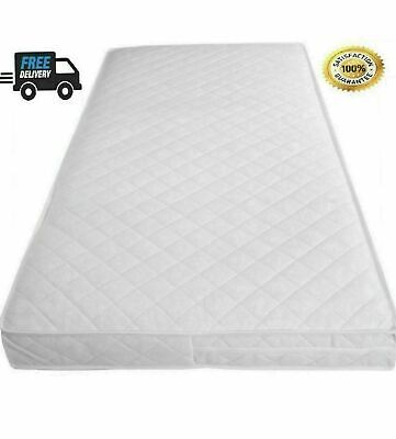£35.65 • Buy Soft Cushy Cot Bed Mattress 160 X 80 / 160x70 (24/48 Hour Delivery)** Made In UK