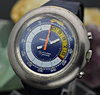 $ CDN775.62 • Buy Vintage MEMOSAIL Yachting Chronograph Valjoux 7737 45mm Men's Sport Watch