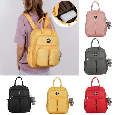 $24.59 • Buy Women Bags Backpack Girls School Shoulder Bag Rucksack Canvas Travel Bookbags Lt