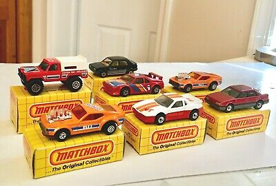 $9.95 • Buy 1983 Matchbox Good Vibrations+BMW No.60+22+52+2+12+31+43 With Boxes Unused NOS!