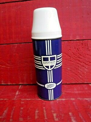 Vintage Mid Century   Boots   Thermos Flask • 9.99£